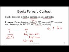 CFA Level I Forwards Video Lecture by Mr. Arif Irfanullah part 1 - YouTube