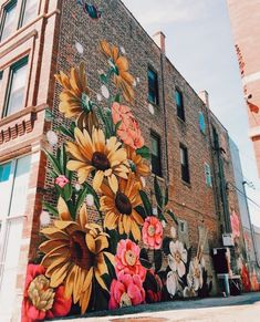 Street Art is a completely well-liked form of art that is spreading speedily every greater than the world. You can locate it on buildings, sidewalks, … Murals Street Art, Graffiti Murals, Art Mural, Street Art Graffiti, Graffiti Painting, Art Art, Garden Mural, Garden Art, Flower Mural