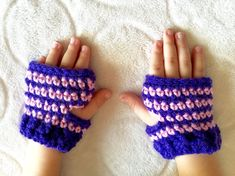 Little Charmer's Hazel-Inspired Fingerless by LottieDahBoutique