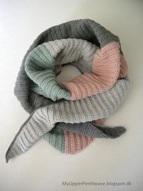 MyUpperPenthouse: 'Seagull Cotton' sjal/tørklæde
