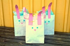 DIY Finaste påskpresenten! En påskhare-påse! DIY The prettiest easter giftbag ever!