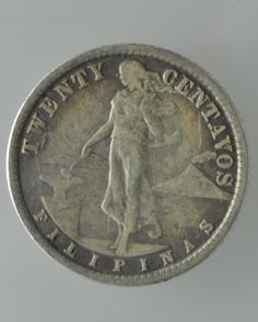 Philippines 20 Cents Silver Coin: (Manila Mint, US Administration) Black Aesthetic Wallpaper, Aesthetic Wallpapers, Philippine Peso, Disney Princess Memes, Money Change, Lily Chee, Filipiniana, Antique Coins, Us Coins