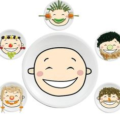 Happy Plate - Brings fun to mealtimes to encourage eating - GadgetBaby Store Clean Plates, Baby Gadgets, Fussy Eaters, Baby Blog, Different Recipes, Decorating Tips, Kids Meals, Baby Items, Decorative Plates