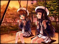 card captor sakura Part 5 - - Anime Image Anime Sakura, Tomoyo Sakura, Syaoran, Manga Anime, Anime Friendship, New Friendship, Clow Reed, Sakura Card Captors, 6 Tag