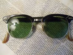 Vintage 1950's Men's Sunglasses Sunshades  by antiqueelegance, $35.00  SOLD