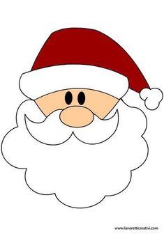 Best 12 23 Funny Santa-Themed Décor Ideas For Christmas – SkillOfKing. Felt Christmas Decorations, Felt Christmas Ornaments, Christmas Crafts For Kids, Xmas Crafts, Christmas Projects, Santa Crafts, Christmas Rock, Christmas Colors, Simple Christmas