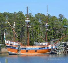 Elizabeth II at Roanoke Island Festival Park