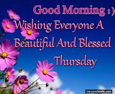 Good morning to all beautiful sic wishing you a joyous day filled good morning wishing everyone a blessed thursday good morning thursday thursday quotes good morning quotes happy thursday thursday quote good morning m4hsunfo