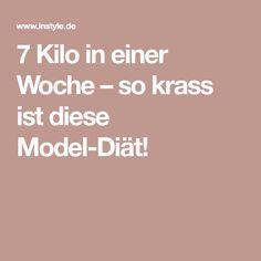 7 Kilo in einer Woche – so krass ist diese Model-Diät!