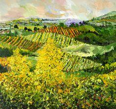 Yellow Trees by Allan P Friedlander