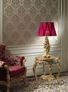 Luxury, Interior Design, Luxury Interior Design, Baroque classic lamps, Vimercati Classic Furniture