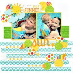 Hot+Summer+Sun - Scrapbook.com