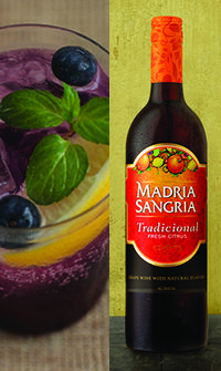Madria Sangria - Blueberry Smash Sangria Recipe