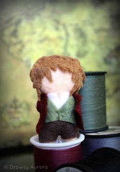 Bilbo Baggins felt doll