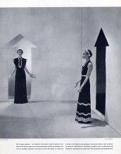 Schiaparelli 1936 Photo Cecil Beaton, Evening Gown