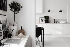 Simple marble splash back | Lotta Agaton