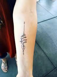 Unalome Tattoo 38 Unalome Tattoo, Simbols Tattoo, Tattoo Foto, Sak Yant Tattoo, Bad Tattoos, Get A Tattoo, Body Art Tattoos, Small Tattoos, Tattoo Quotes