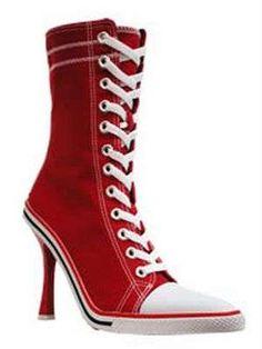 Tennis Shoes Stilettos