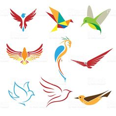 Find Birds Symbols Logo Icons stock images in HD and millions of other royalty-free stock photos, illustrations and vectors in the Shutterstock collection. Free Vector Graphics, Free Vector Art, Free Vector Images, Graphic Design Flyer, Flyer Design, Logo Design, Hummingbird Illustration, Bird Logos, Symbol Logo