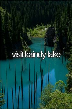 visit kaindy lake