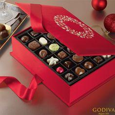 Our Holiday Luxury Box Embellished with SWAROVSKI® ELEMENTS #GODIVA