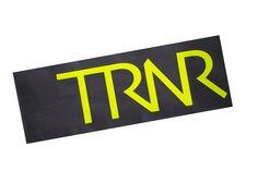 Grey & Neon Yellow headband/pannebånd/panneband/pannband