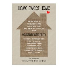 Free Printable Housewarming Party Templates  Housewarming