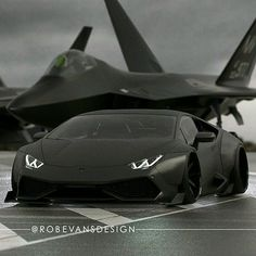 Lamborghini carbon racing with jet