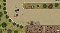 Qvadriga is a tactical game of chariot racing in ancient Roman circuses, where you take control of a four horse chariot team. Choose your preferred upgrade combinations and prove your skills at the arena. Select the most cunning actions which your team could perform against the best drivers of the old world: shake reins, whip horses, choose lanes, hold tight while negotiating curves, avoid incoming attacks, block enemies path, lacerate and whip them until achieving victory.