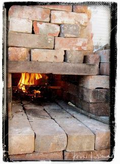 Dry Stacked Wood Fired Oven & Grill