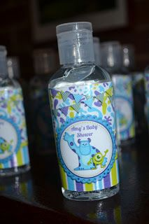 Monster's Inc Baby Shower Round Up