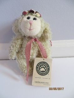 Boyds Bears Lilith Angel Ewe Lamb Ornament The Archive Collection Retired #Boyds