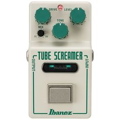 Ibanez Nu Tube Screamer Overdrive Pedal Pre-OrderThis Ibanez Nu Tube Screamer Overdrive Pedal is available for pre-order now!From Ibanez: New for 2018, Ibanez is excited to announce the release of the Nu Tube Screamer. This pairing of Ibanez's Tube Screamer with Korg's Nutube technology, has produced an overdrive with exceptional dynamics, improved sensitivity, and natural tube-like compression.