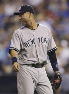350226e67a5 Derek Jeter Photos Photos  New York Yankees v Kansas City Royals