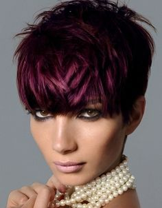 love this color and if you can get away with this cut you're a true beauty.