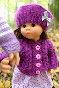 Crochet Baby Doll Clothes Website 39 Ideas For 2019 Knitting Dolls Clothes, Baby Doll Clothes, Baby Dolls, Crochet Mittens Pattern, Crochet Purse Patterns, Crochet Baby, Knit Crochet, Irish Crochet, Crochet Christmas Decorations