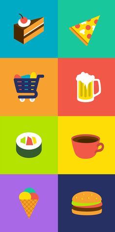 Free Gluten Icons by Vicki Rool