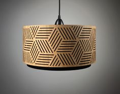 Lampshade made of wood with cut-outs / Handmade door minjonshop op Etsy https://www.etsy.com/nl/listing/115725540/lampshade-made-of-wood-with-cut-outs