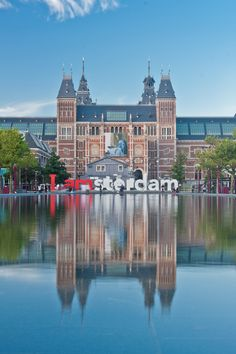 Rijksmuseum (I amsterdam sign is behind it)                                                                                                                                                                                 More