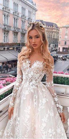 Designer Highlight: Milla Nova Wedding Dresses Milla Nova Wedding Dresses Collection 2016 includes gowns for any taste. Each dress inimitable and splendid. You surely find gorgeous dress for yourself. Cute Prom Dresses, Pink Wedding Dresses, Cute Wedding Dress, Princess Wedding Dresses, Pretty Dresses, Bridal Dresses, Beautiful Dresses, Gorgeous Dress, Boho Wedding