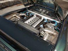 1993 Bugatti EB110 GT - Engine Bay