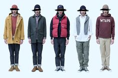 "WTAPS AW13 ""Lifist"" Collection"