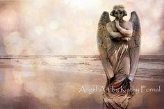 Angel Art  Surreal Angel Photos Pink Angel Art by KathyFornal, $28.00