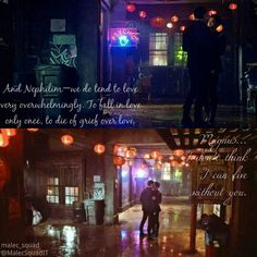"""Malec Squad ➰- 3 girls (@malec_squad) en Instagram: """"If you'll ever be afraid about Malec, remember this: """"And Nephilim—we do tend to love very…"""""""