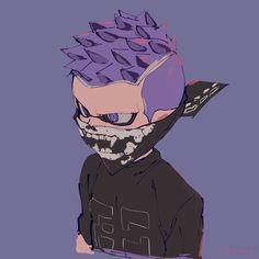 I think this hairstyle fits Mask better Splatoon 2 Art, Splatoon Comics, Character Art, Character Design, Nintendo Characters, Manga, Cosplay, Art Sketches, Game Art