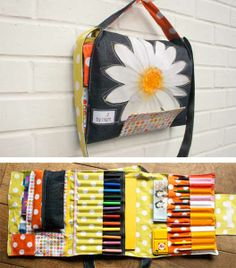Creative Suitcase  THIS would be great for the child who needs more than a box of crayons. :)