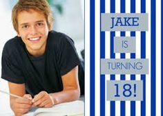 18 Year Old Birthday Ideas 18th Invitations For Boys