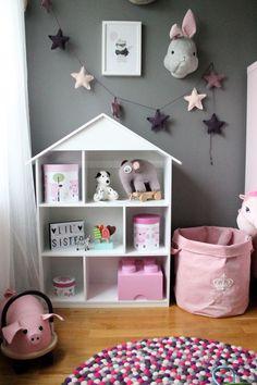 Köp Alice & Fox Bokhylla Hus Vit | Barnrummet Barnmöbler | Jollyroom