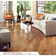"Somerset Character Collection 5"" Hickory Saddle - Somerset Hardwood - Flooring Manufacture - Flooring"