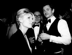 Claire Danes, Gilles Mendel, and Hugh Dancy